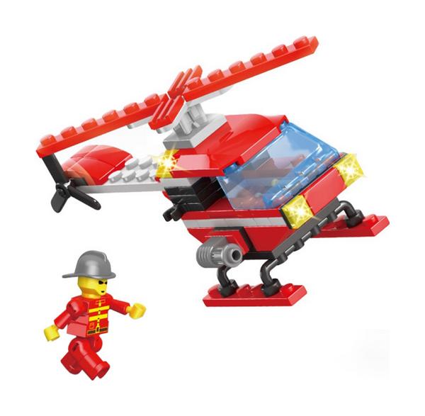 Купить Конструктор пластиковый PEIZHI Воздушный патруль 102 детали, Конструкторы пластмассовые