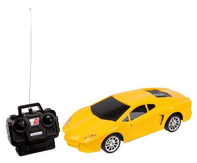 Купить Радиоуправляемая машинка Наша Игрушка New Concept Желтый, Наша игрушка,