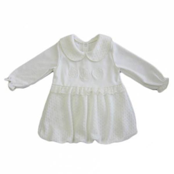 823-128КВ-22/68 Платье длин. рукав с вышивкой от Осьминожка