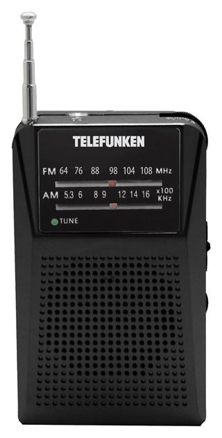 Радиоприемник Telefunken TF-1641 Bl фото