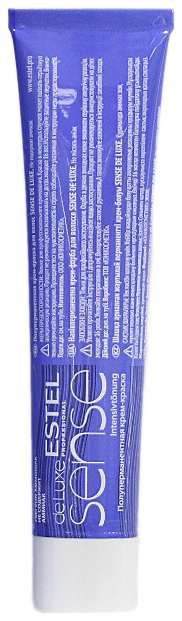 Краска для волос Estel Sense De Luxe 9/76 Блондин коричнево-фиолетовый 60 мл