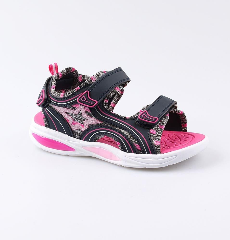 Купить 524035, Пляжная обувь для девочек Котофей, 35 р-р, Шлепанцы и сланцы детские