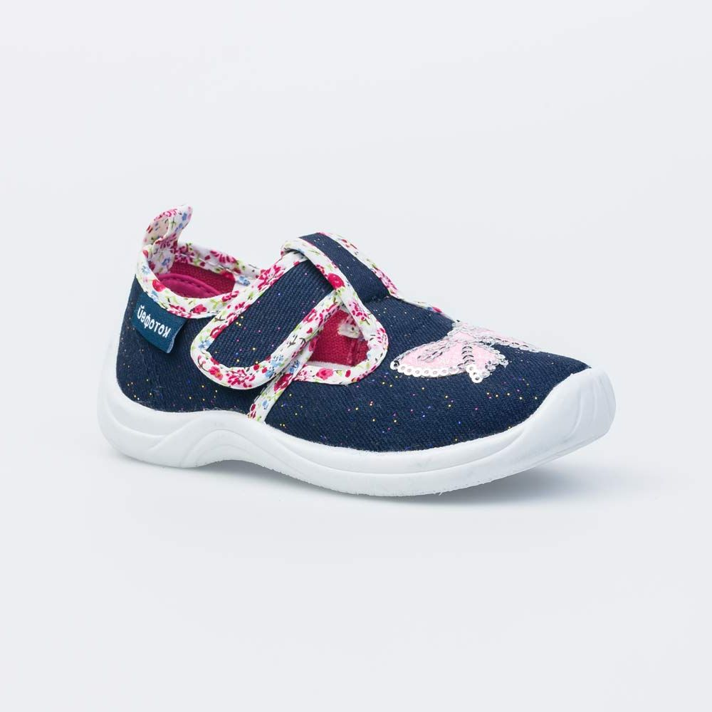 Текстильная обувь для девочек Котофей, 23 р-р
