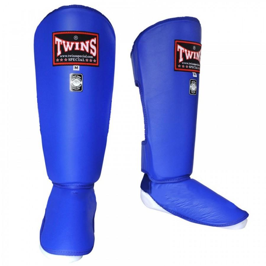 Защита голени Twins SGL2 Shin Protection синяя