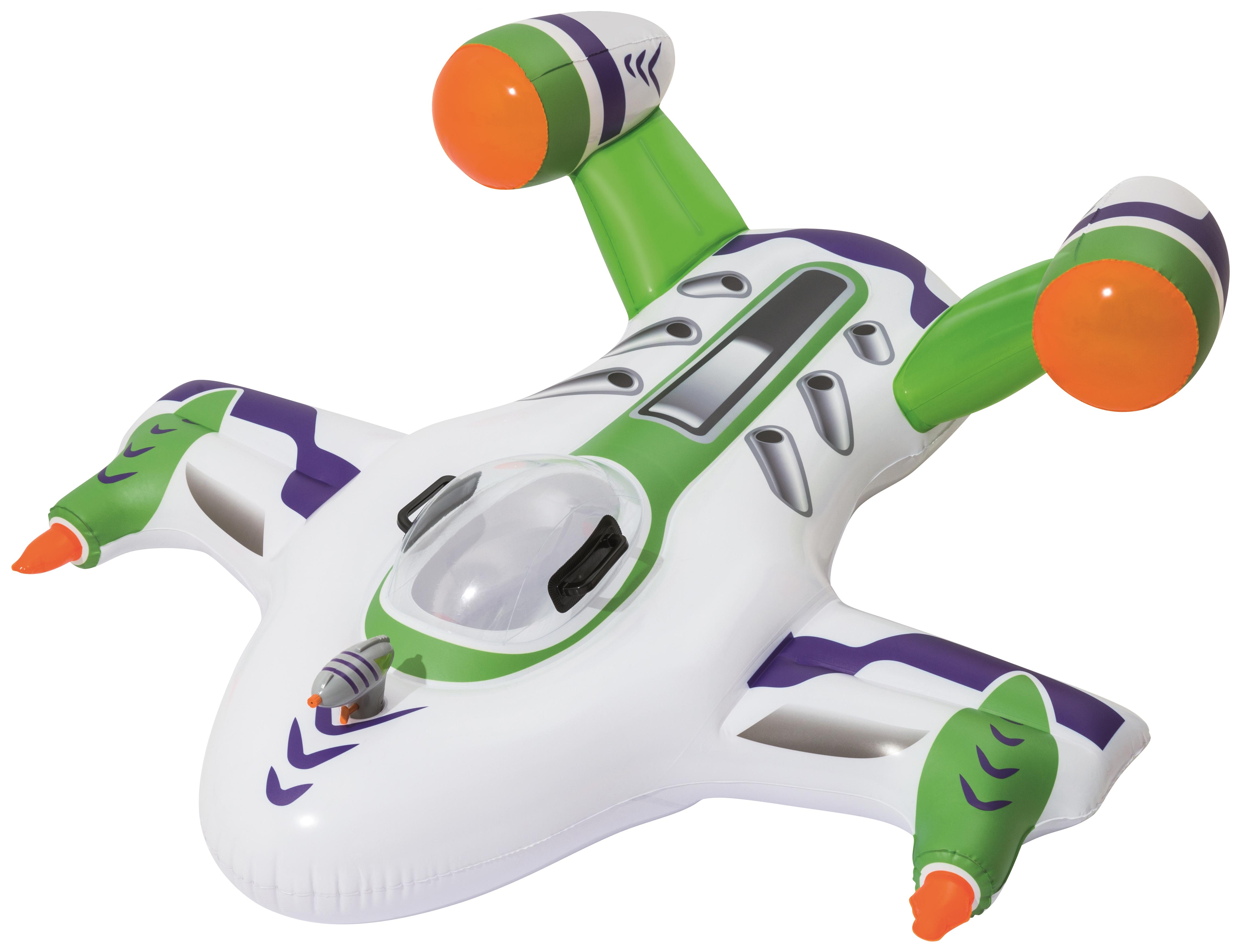 Купить Игрушка для катания верхом Самолет с брызгалкой, 155 х 145 см Bestway, Игры на воде