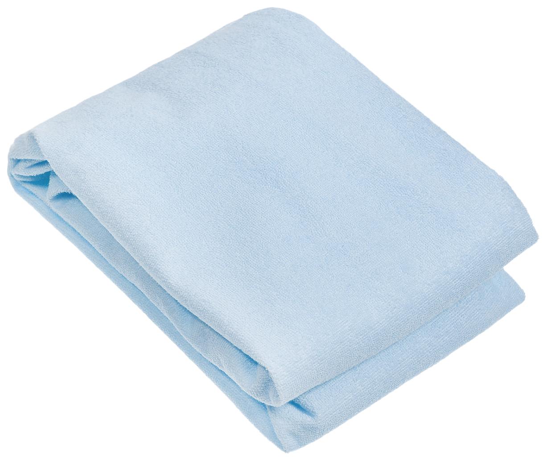 Наматрасник для овальной кроватки Baby Nice, голубой