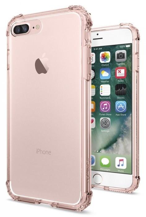 Чехол Spigen Crystal Shell для Apple iPhone 7 Plus/8 Plus Rose Crystal (043CS20501)