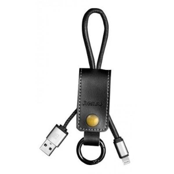 Кабель Remax Western (RC-034i) для iPhone Lightning (0,3m) black