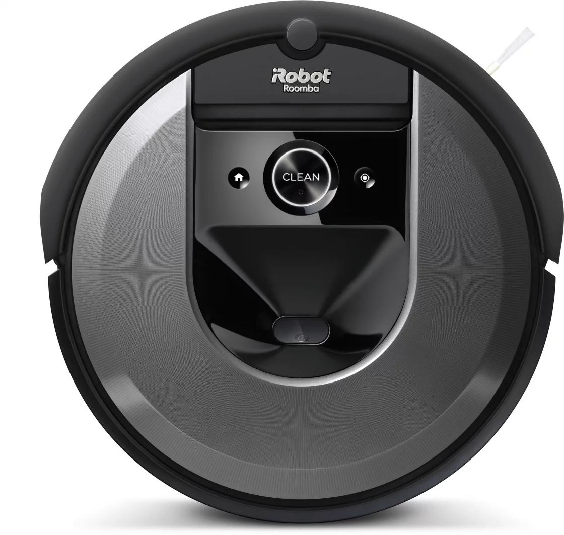 Робот пылесос iRobot Roomba i7+, черный