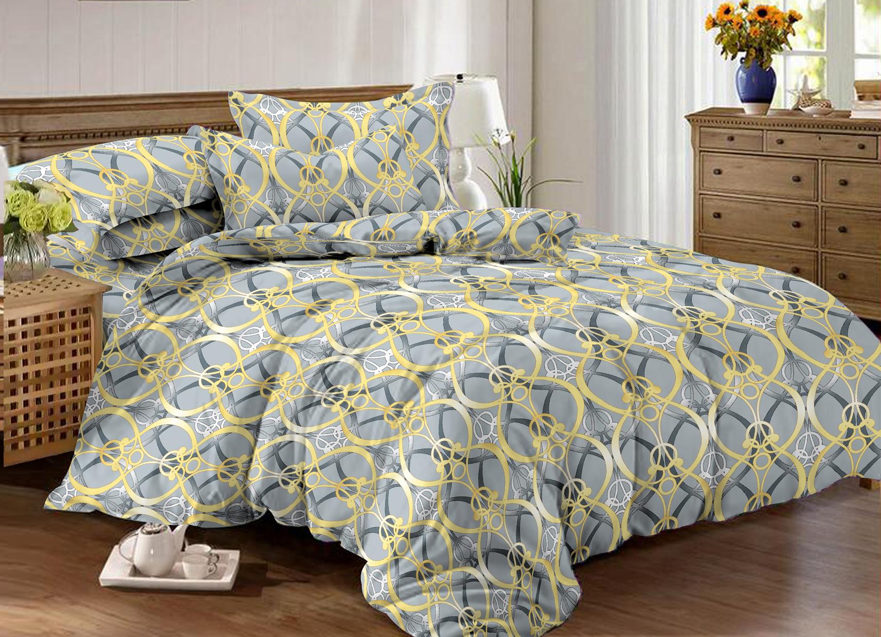 Комплект постельного белья Amore Mio BZ Kink двуспальный, 9159