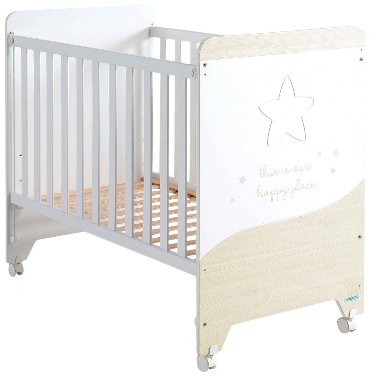 Купить Кровать Micuna Cosmic (Микуна Космик) 120*60 white/nordic, Классические кроватки