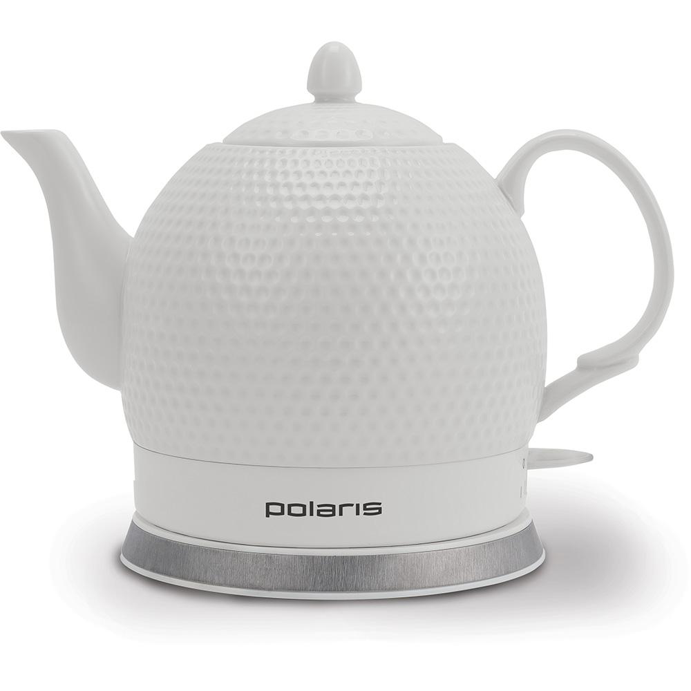 Чайник электрический Polaris PWK 1260CC White фото