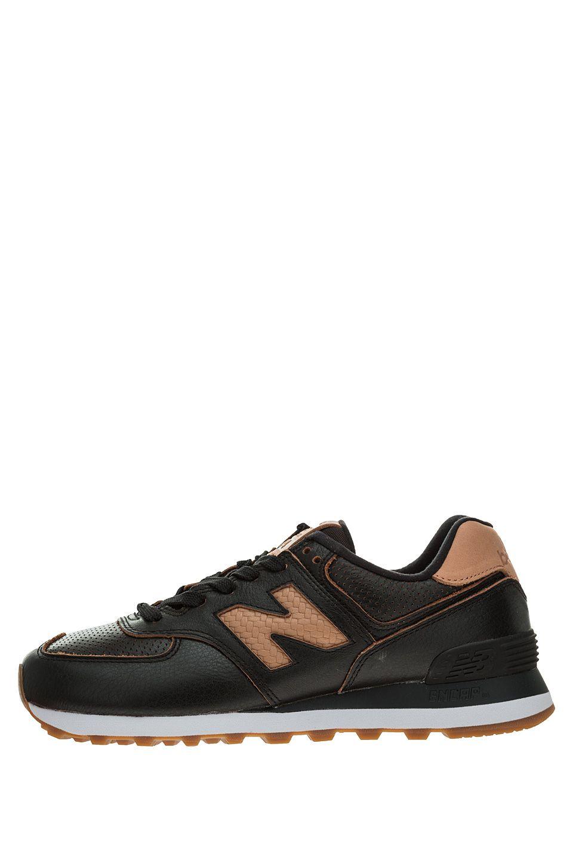 Кроссовки женские New Balance WL574WNH/B черные