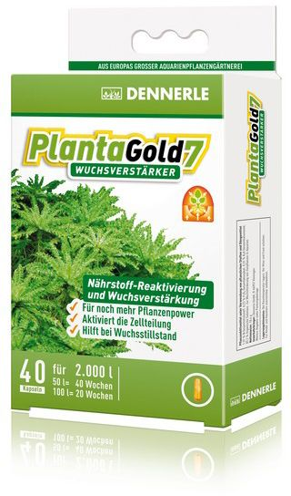 Удобрение для аквариумных растений Dennerle Planta Gold