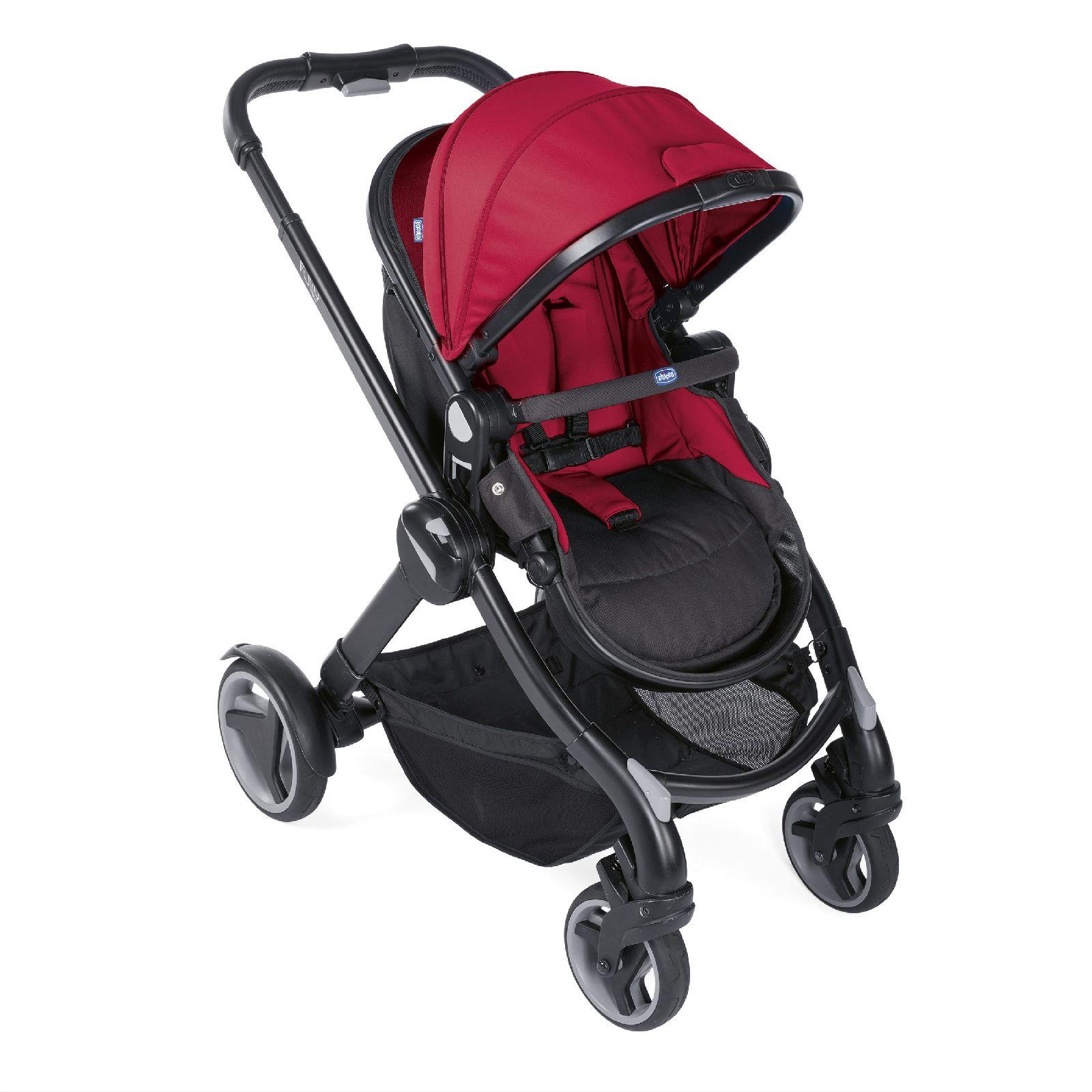Купить Коляска-трансформер Chicco Fully Red Passion, Детские коляски трансформеры