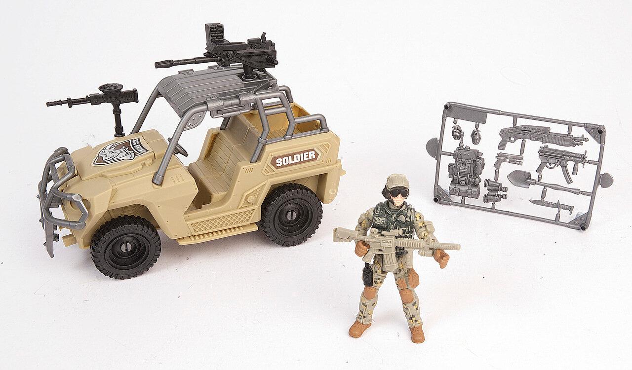 Военный транспорт Chap Mei Армейский внедорожник 521064-2 фото