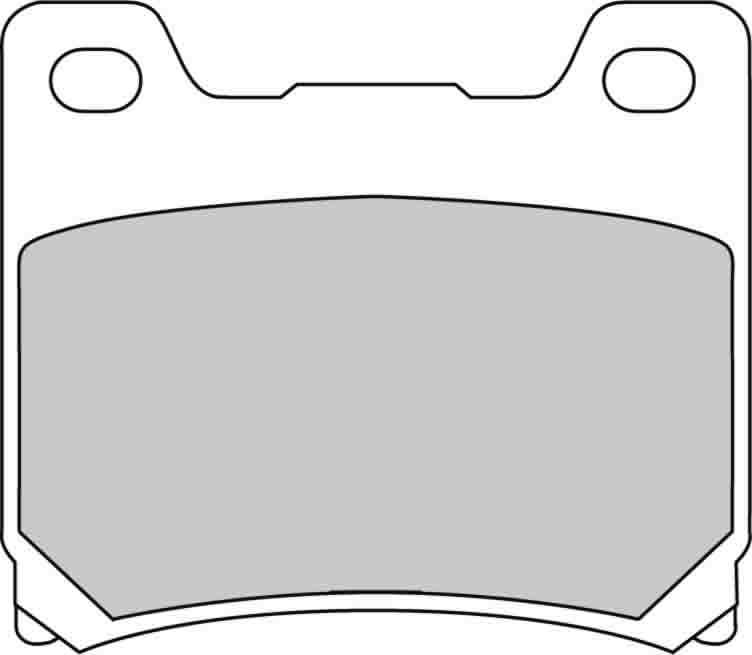 Тормозные колодки передние/задние Ferodo FDB337P для мотоциклов
