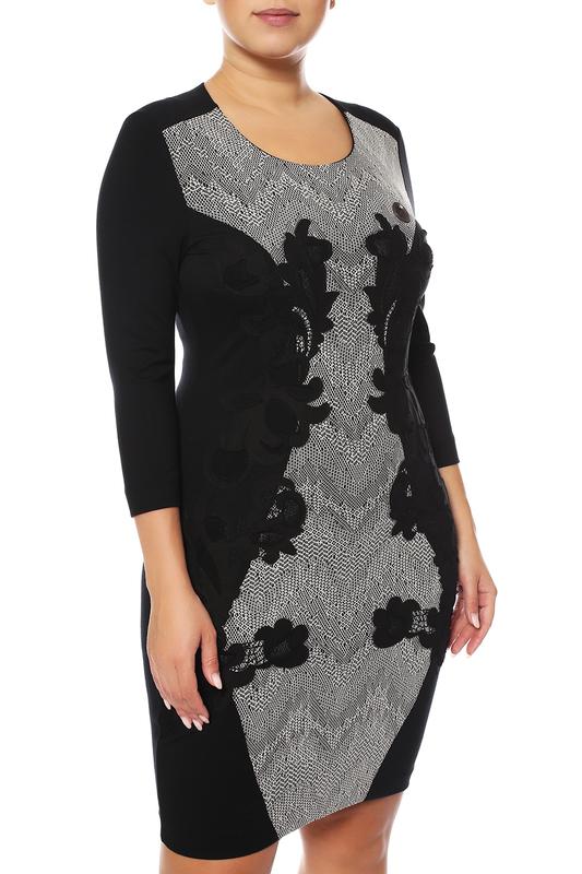 Платье женское Sportalm 788015000/59 черное 38 DE фото