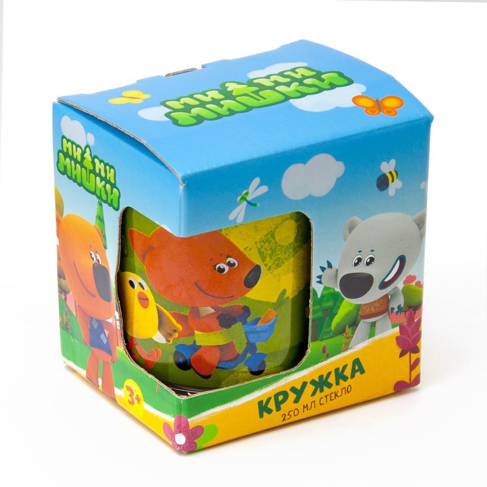 Кружка ND Play Ми-ми-мишки Лисичка и Цыпа (подарочная упаковка), 250 мл, стекло