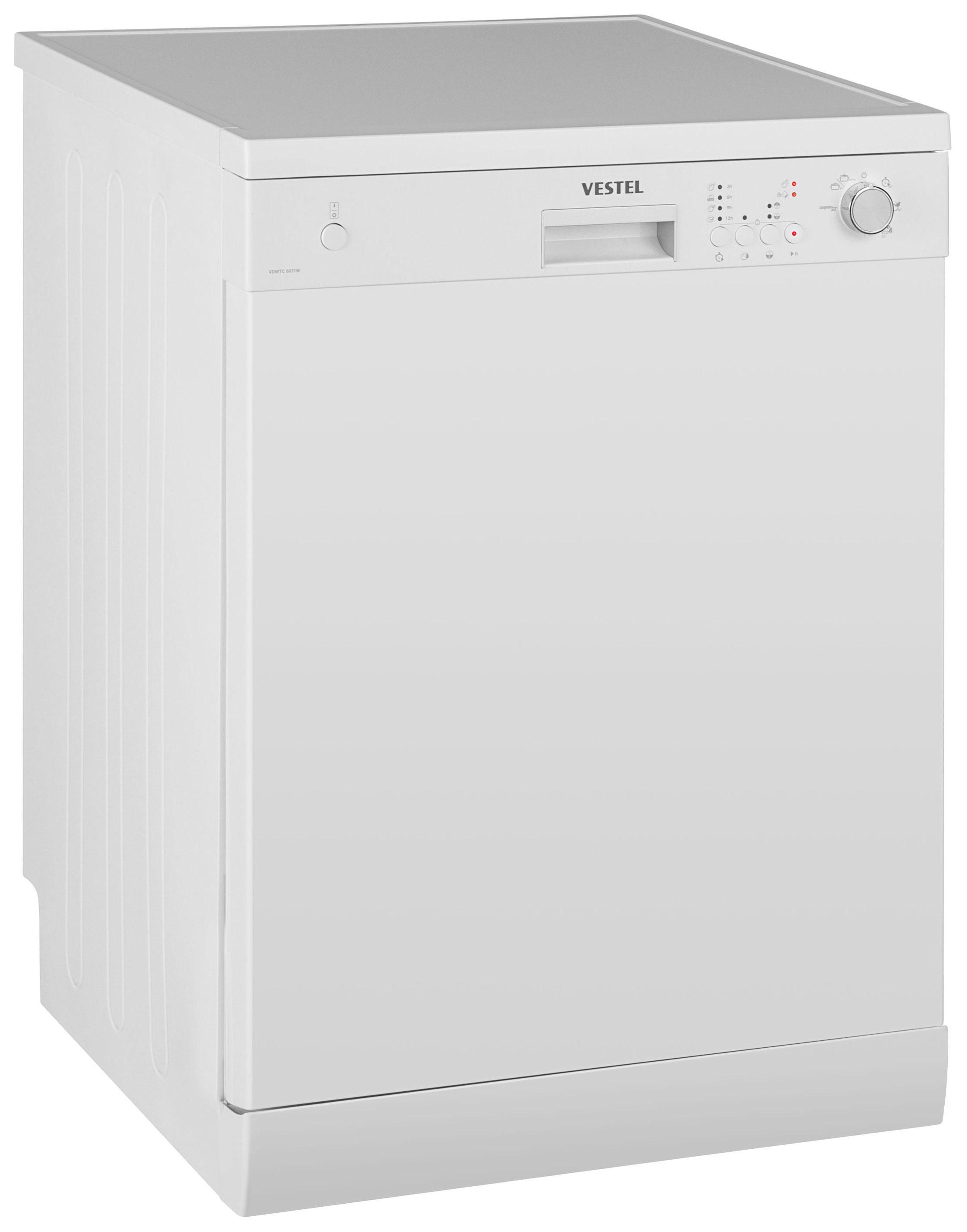 Посудомоечная машина 60 см Vestel VDWTC 6031W