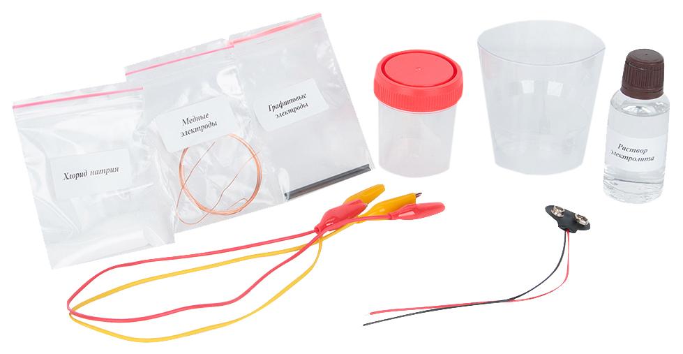 Набор для экспериментов Каррас Электролиз Х027