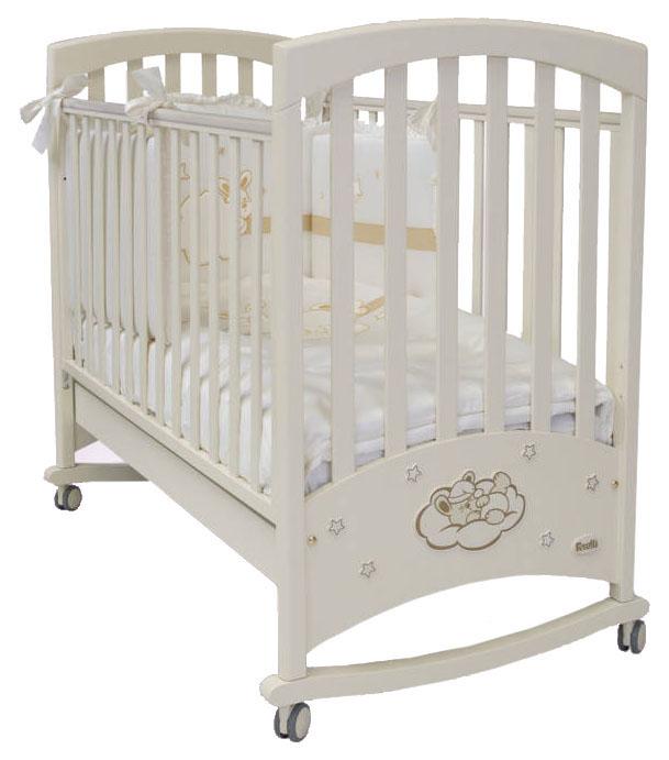 Кровать детская Feretti Lapin Bebe Dondolo Bianco/Белый фото