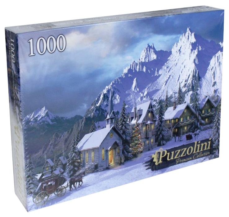 Купить Пазлы Puzzolini 1000 элементов доминик дэвисон, зима в альпах mgpz1000-7737, Рыжий кот