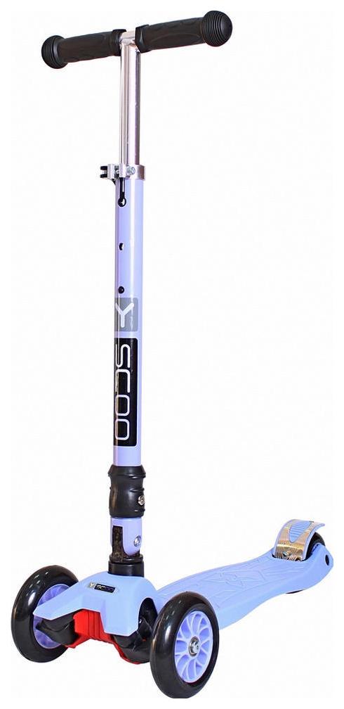 Купить Самокат трехколесный Y-Scoo 35 Maxi Fix Simple Violet, Самокаты детские трехколесные