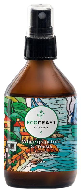 Купить Дезодорант EcoCraft White Grapefruit and Freesia 100 мл