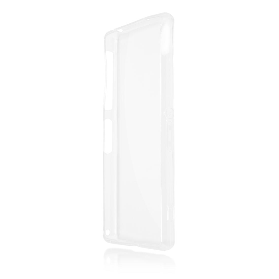 Силиконовый чехол Brosco для Sony Xperia Z2, прозрачный