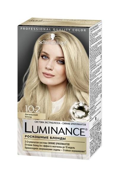 Краска для волос Schwarzkopf Luminance Color 10.2 Ангельский блонд 165 мл