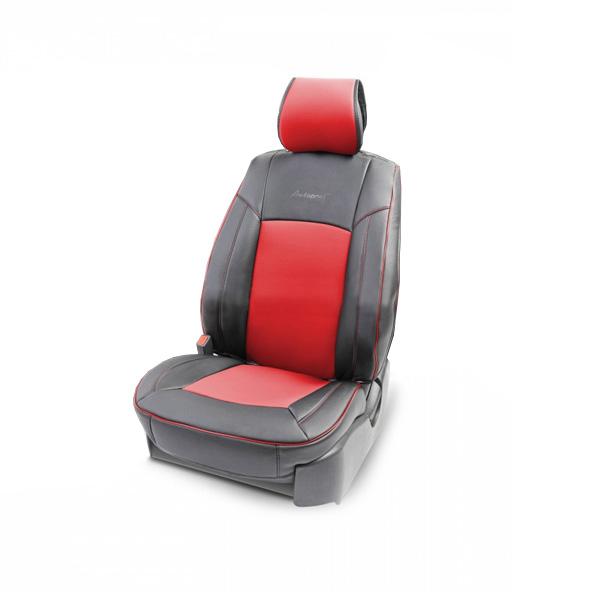 Накидка на сиденье Autoprofi Универсальная HIT-310G BK/RD