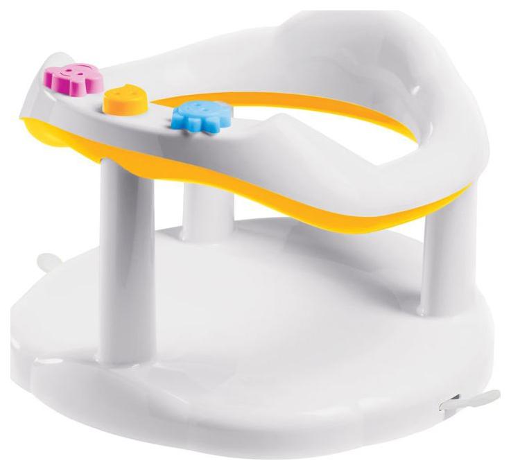 Купить Сиденье Бытпласт для купания детское желтое, Стульчики для купания малыша