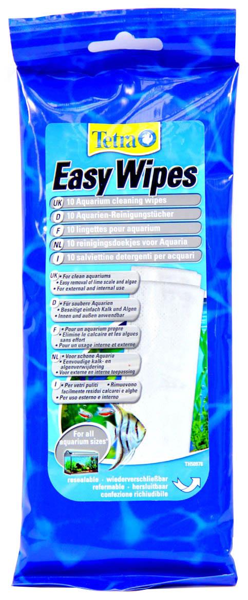 Стеклоочиститель аквариума Easy Wipes, 10 шт