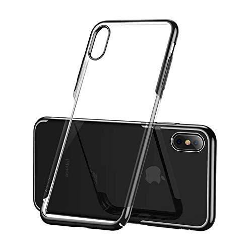 Чехол Baseus Glitter Case (WIAPIPH58-DW01) для Apple iPhone X/Xs (Black)