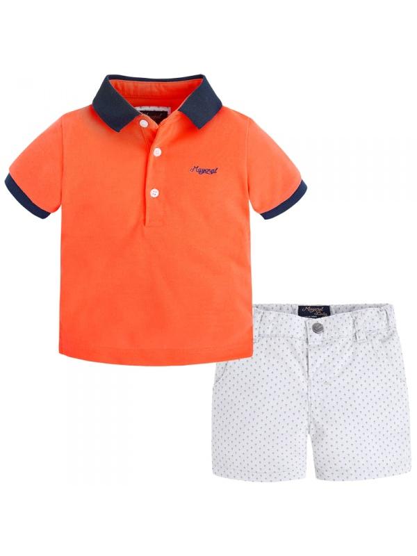 Комплект одежды MAYORAL Оранжевый р.92