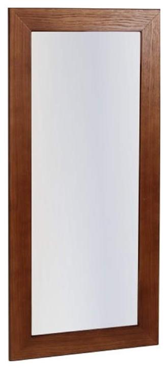 Зеркало навесное Берже 24 90 темно коричневый