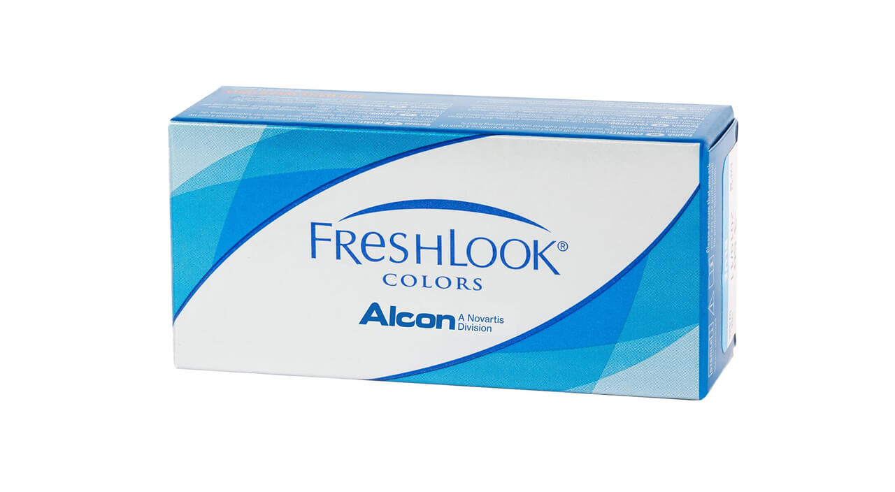 Контактные линзы FreshLook Colors 2 линзы -0,50 pure hazel фото
