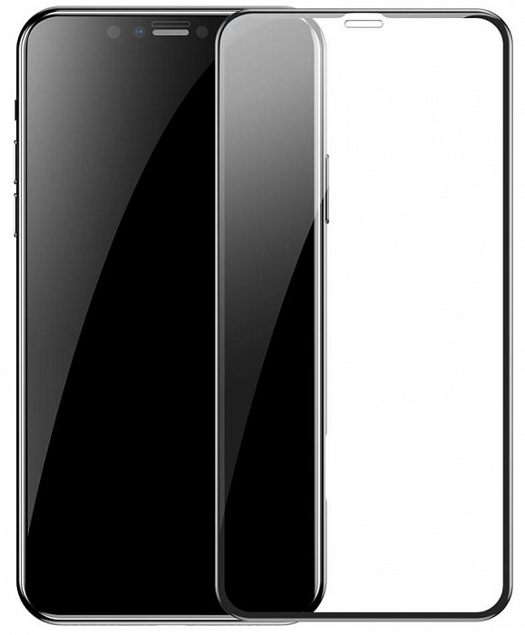 BASEUS FULL COVERAGE CURVED TEMPERED GLASS PROTECTOR