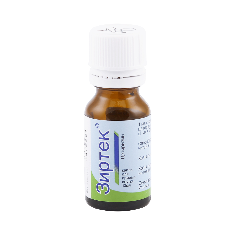 Зиртек капли 10 мг/мл 10 мл