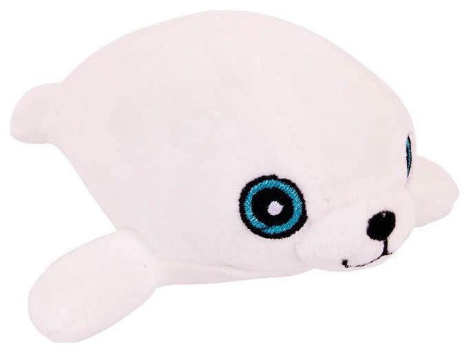 Купить Мягкая игрушка ABtoys Тюлень белый, 13 см,