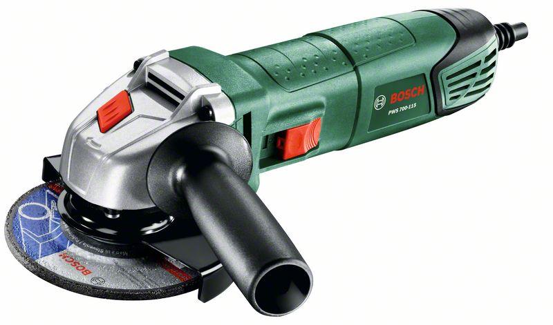 Сетевая угловая шлифовальная машина Bosch PWS 650-115box 603411021