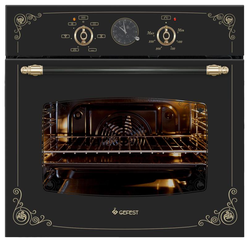 Встраиваемый электрический духовой шкаф GEFEST ДА 602-02 К93 Black
