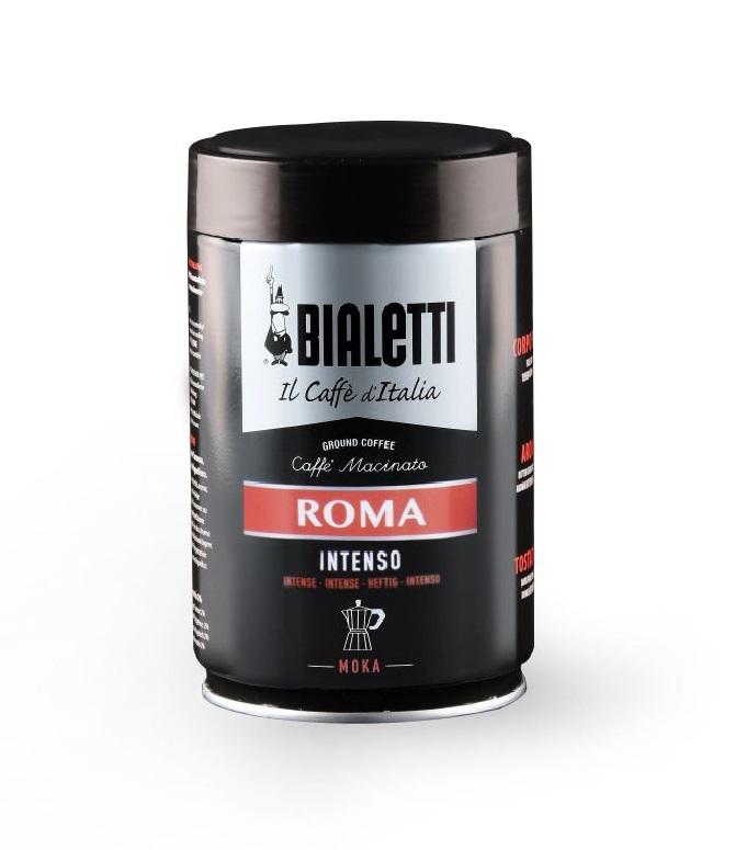 Кофе молотый Bialetti мока Roma 250 г ж/б