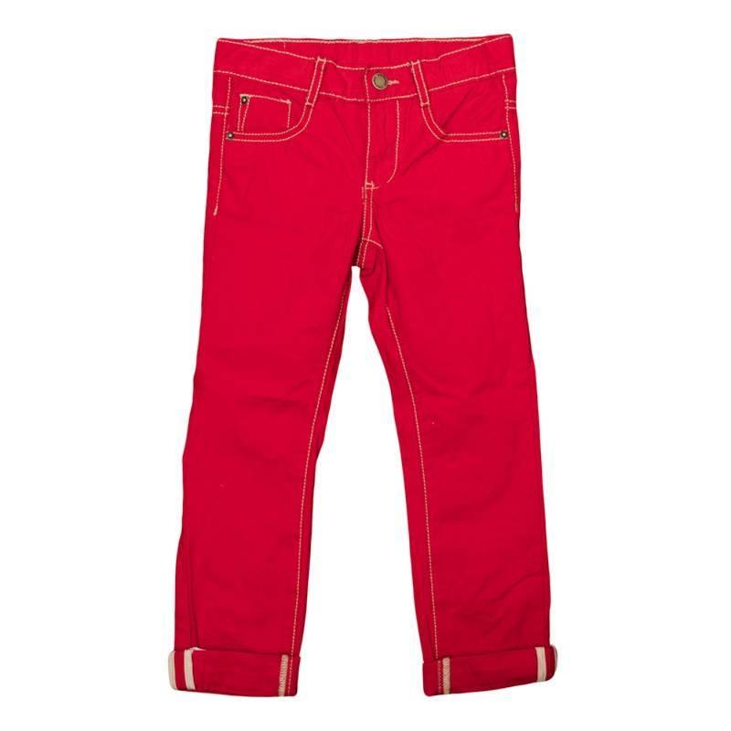 Купить Брюки текстильные для мальчиков(98), 361013 красный EAN 4690244712980, Play Today, Детские брюки и шорты