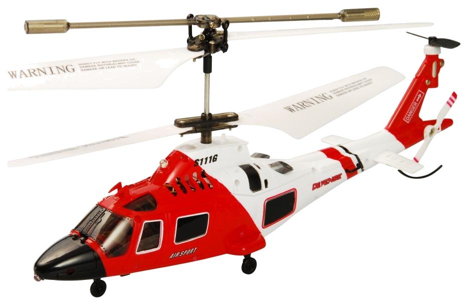 Радиоуправляемый вертолет Syma S111G с гироскопом на р/у