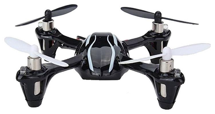 Купить Радиоуправляемый квадрокоптер Hubsan X4 с защитой, Квадрокоптеры для детей