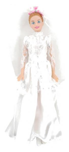 Купить Кукла Play Smart Д29307 в свадебном платье 29 см, PLAYSMART, Классические куклы