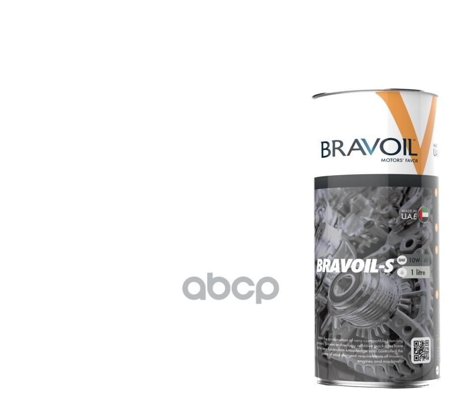 Моторное масло Вravoil S 10W 40 1л