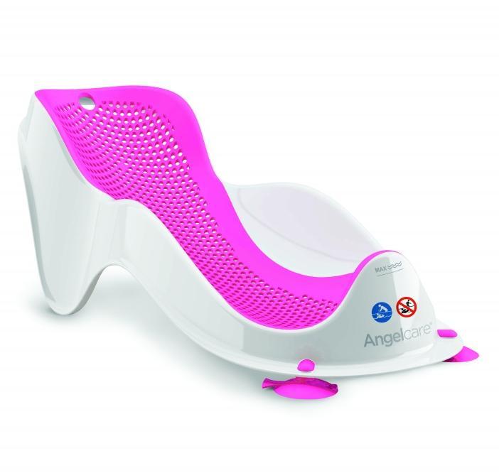 Купить Angel care горка для купания детская bath support mini, цвет розовый, Angelcare, Горки для купания новорожденных